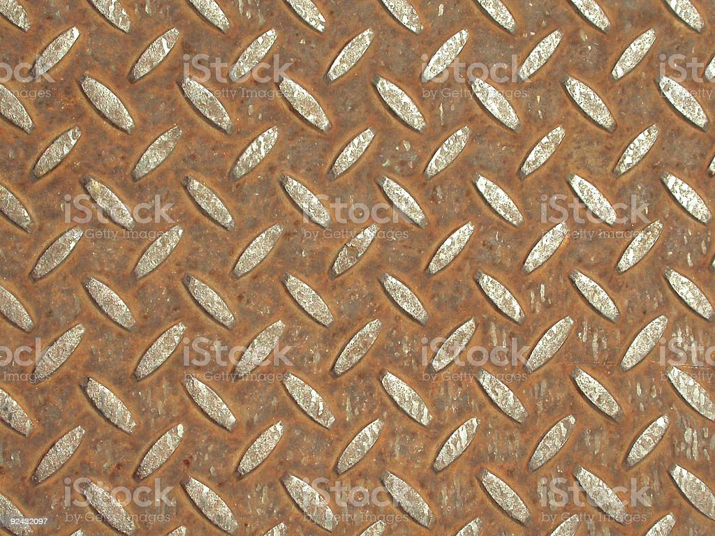 Rusty Footing royalty-free stock photo