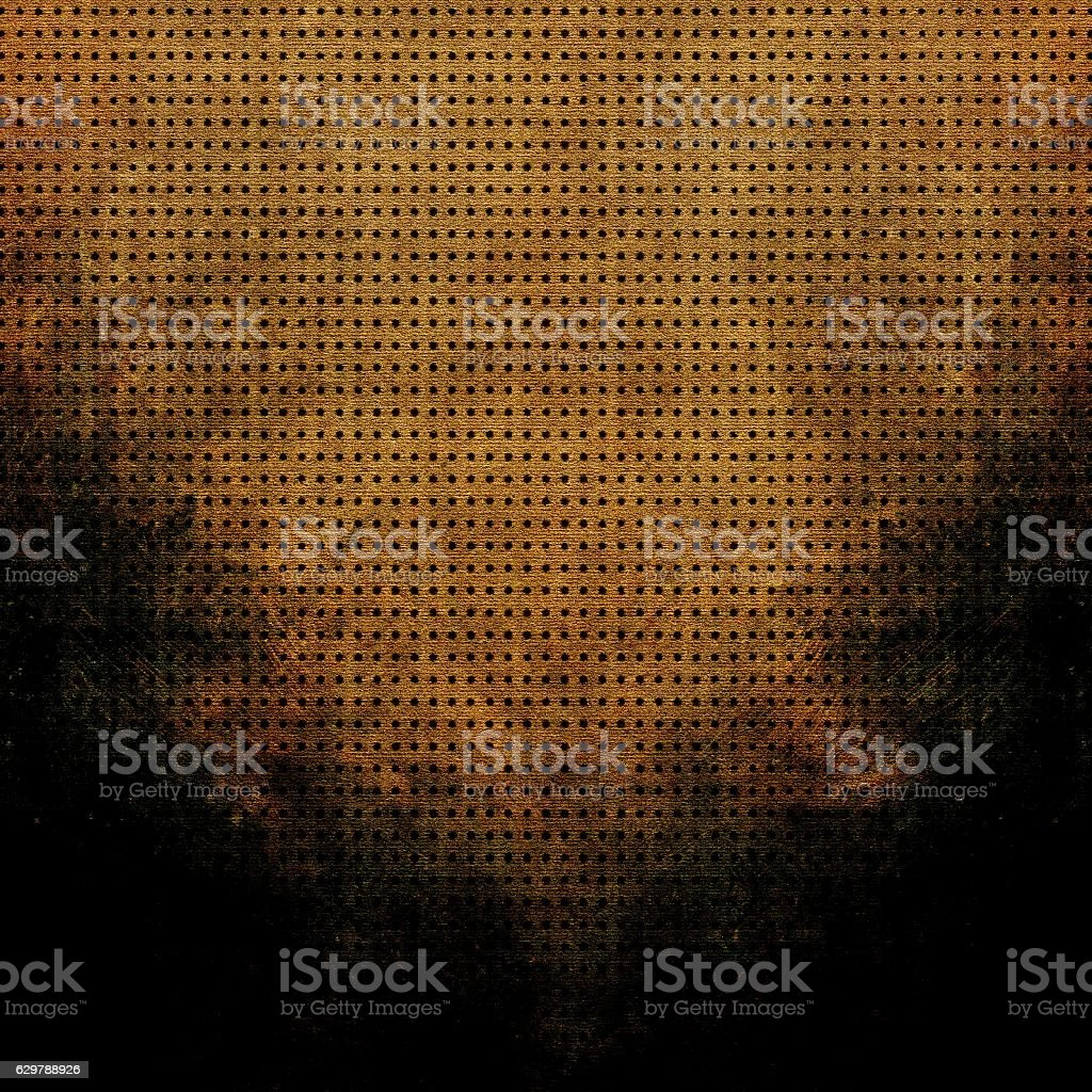Rusty grunge background. Halftone abstract dotted background and texture stock photo