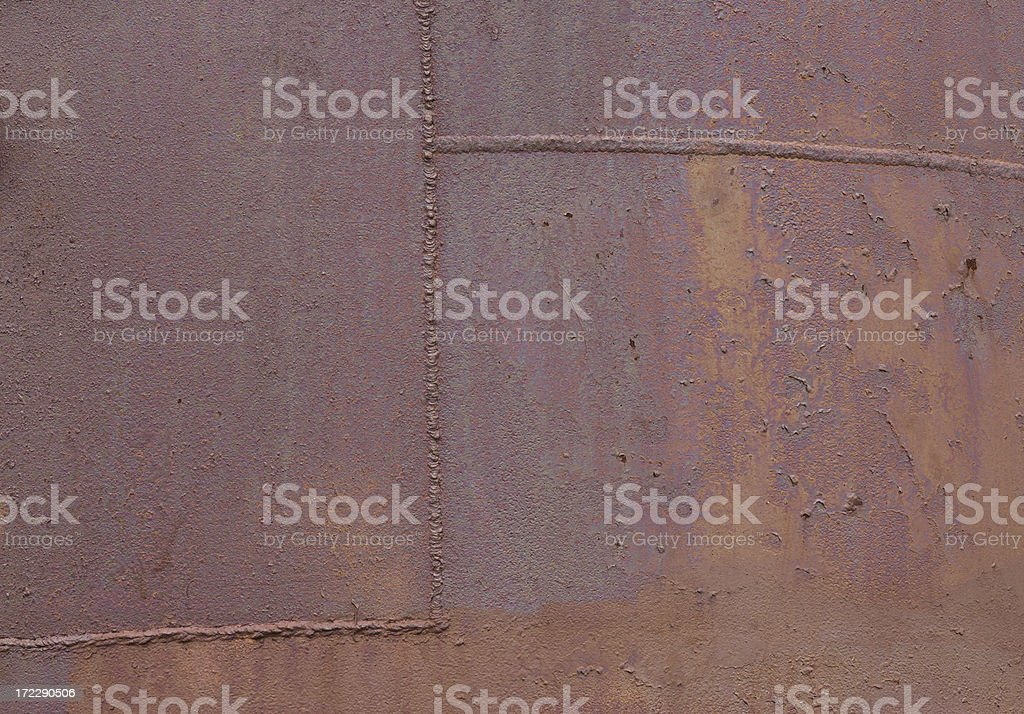 Rusty grunge painted over royalty-free stock photo