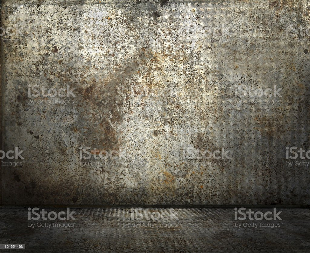Rusty interior royalty-free stock photo