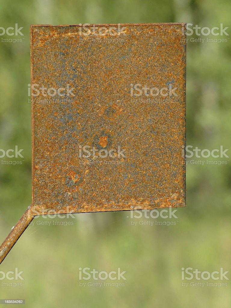 Rusty iron royalty-free stock photo