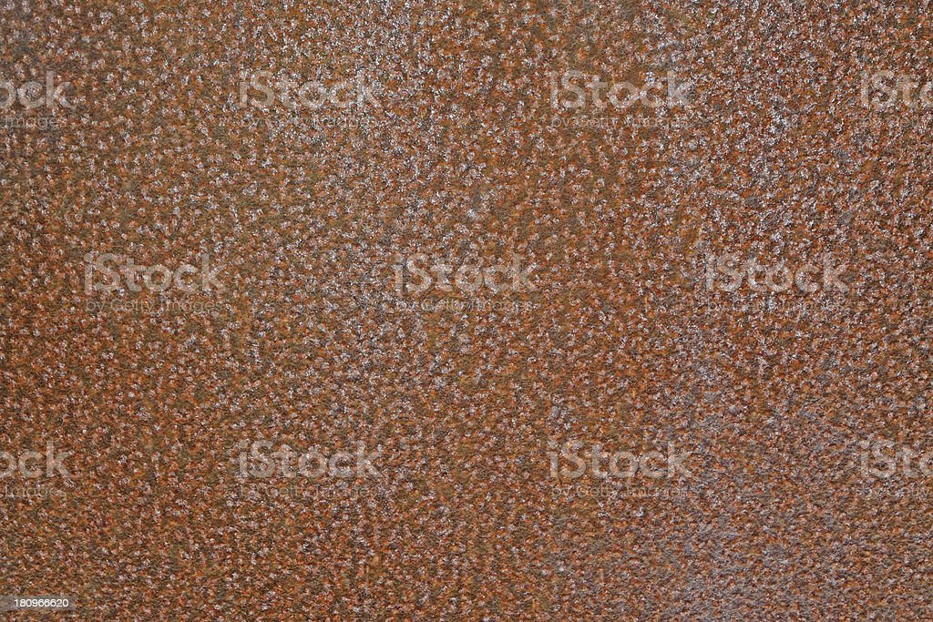 rusty iron plate royalty-free stock photo