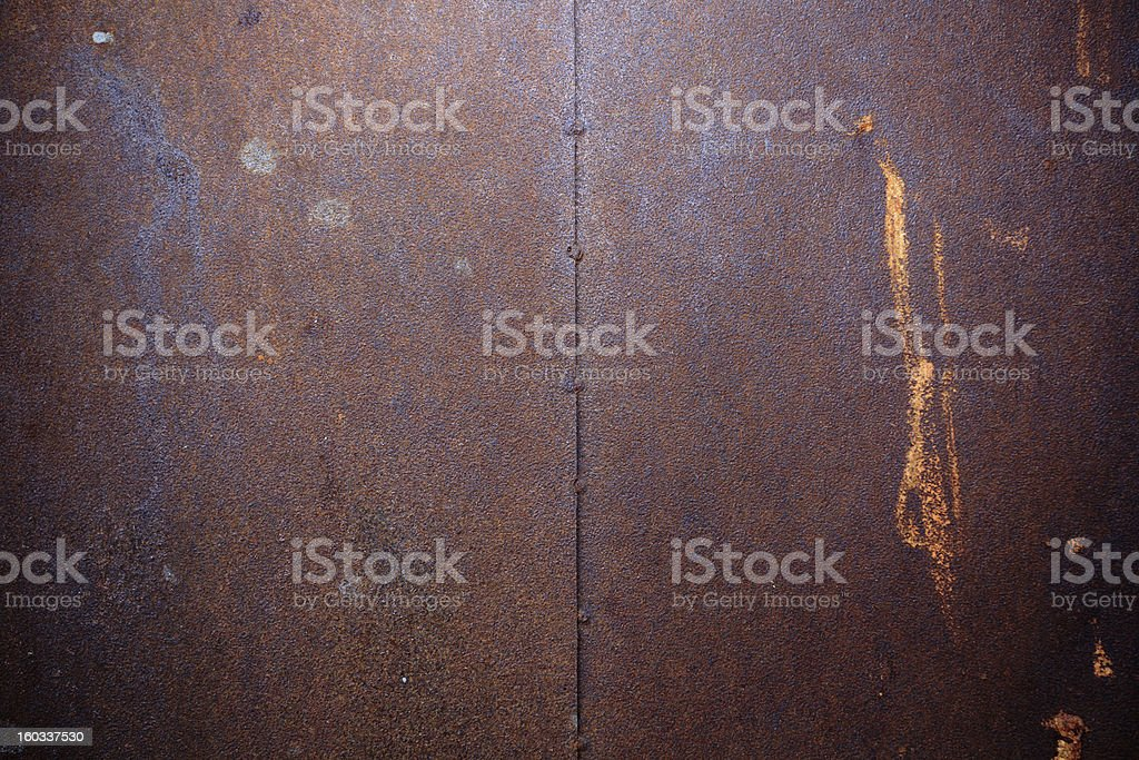 Rusty iron surface royalty-free stock photo