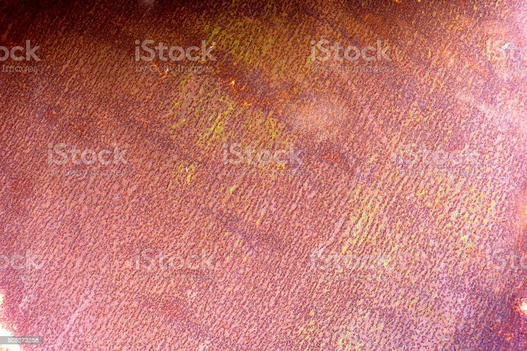 Rusty iron texture stock photo