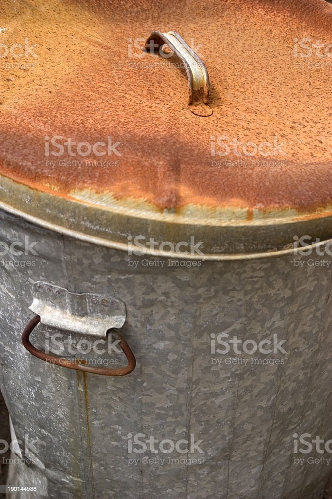 Rusty Lid royalty-free stock photo