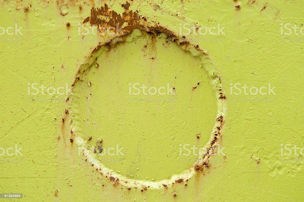 Rusty limegreen background stock photo