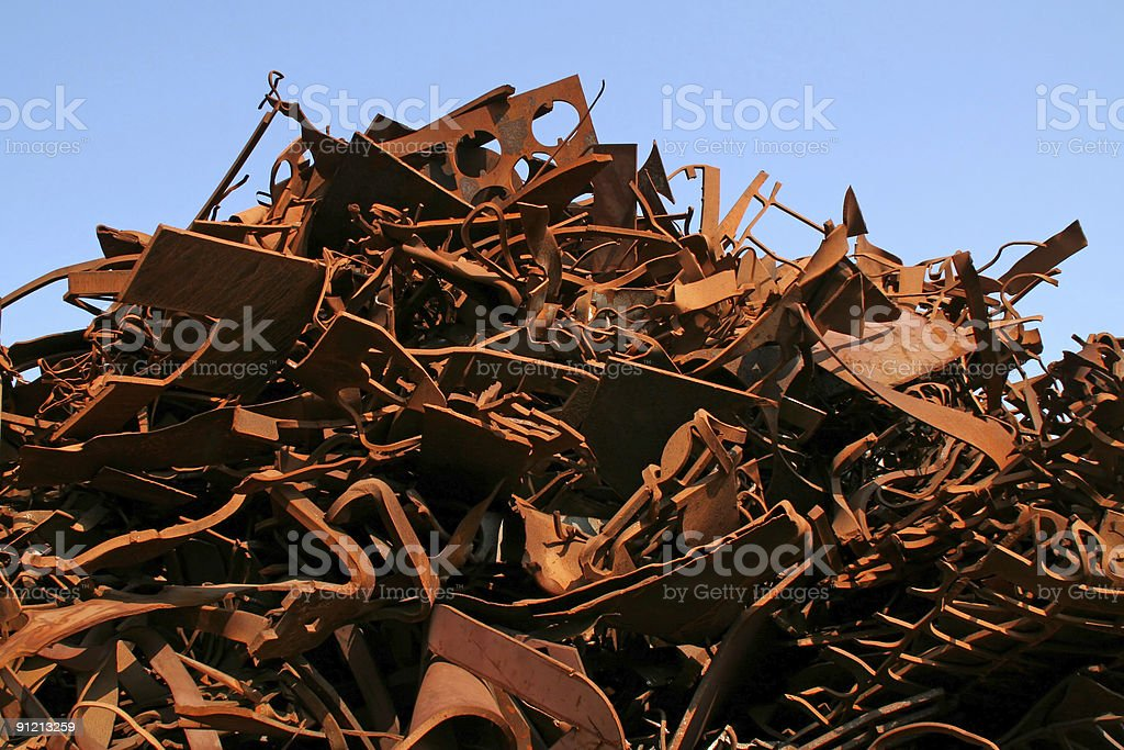 Rusty metal and iron # 5 royalty-free stock photo