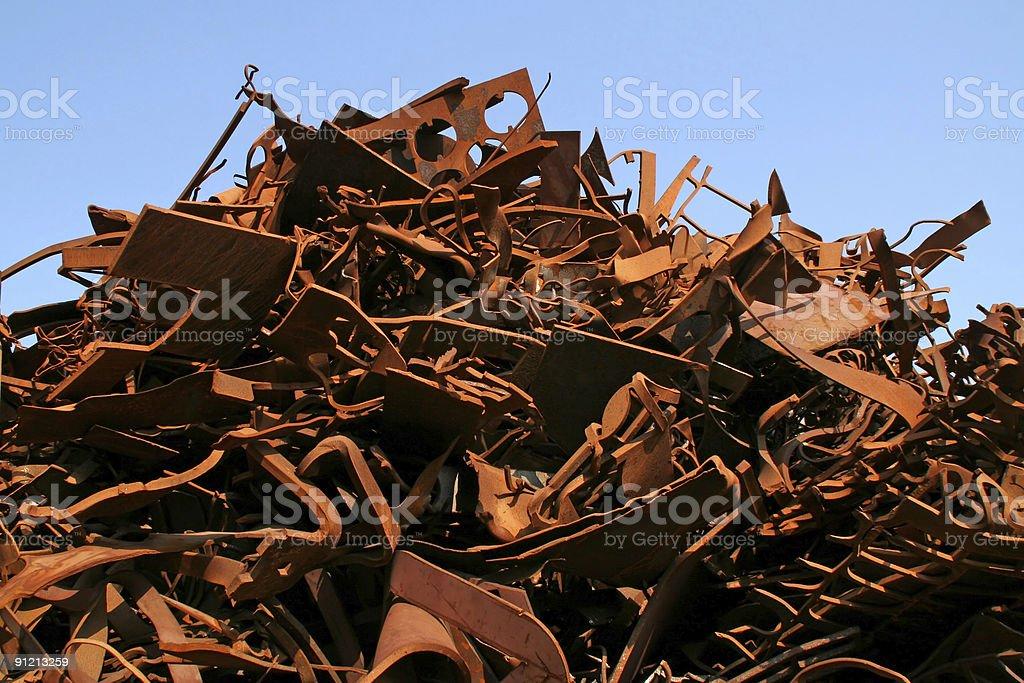 Rusty metal and iron # 5 stock photo
