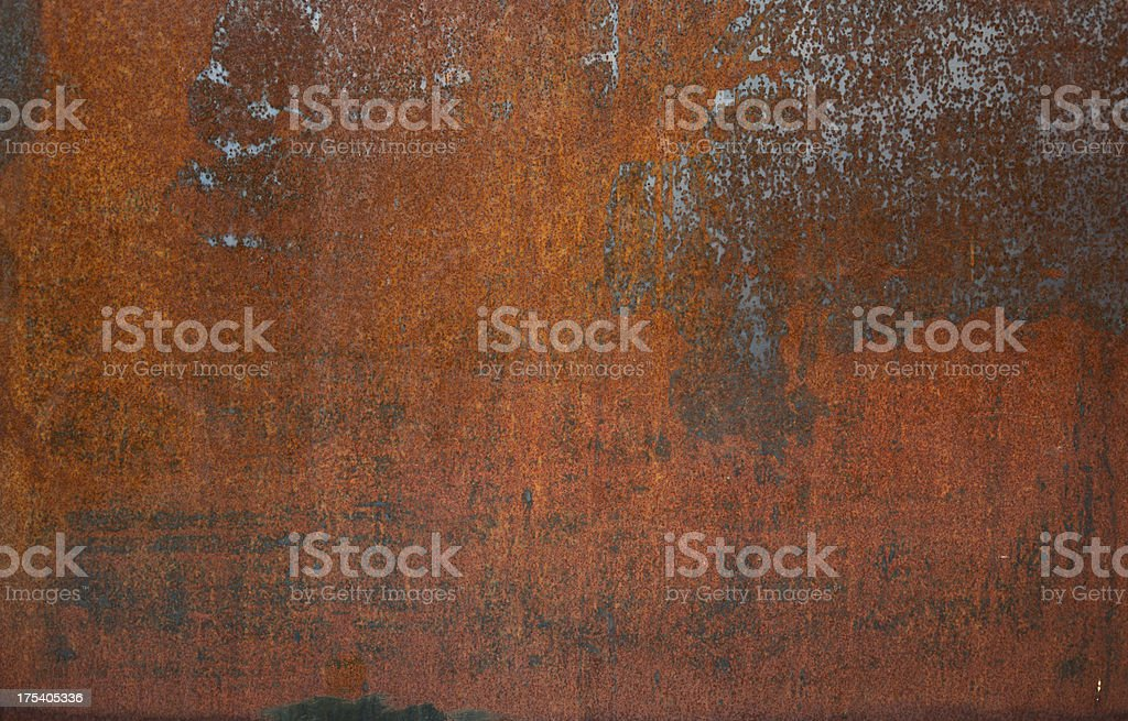 Rusty Metal Background stock photo