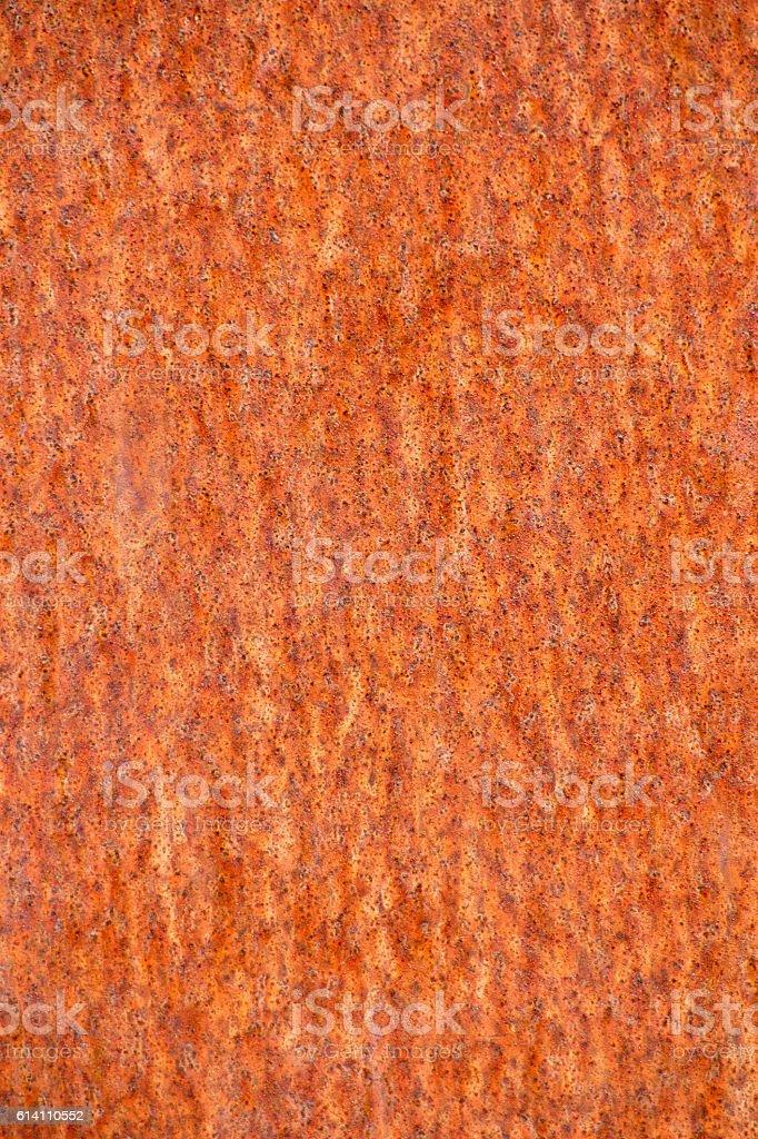 Rusty metal background - Vertical stock photo