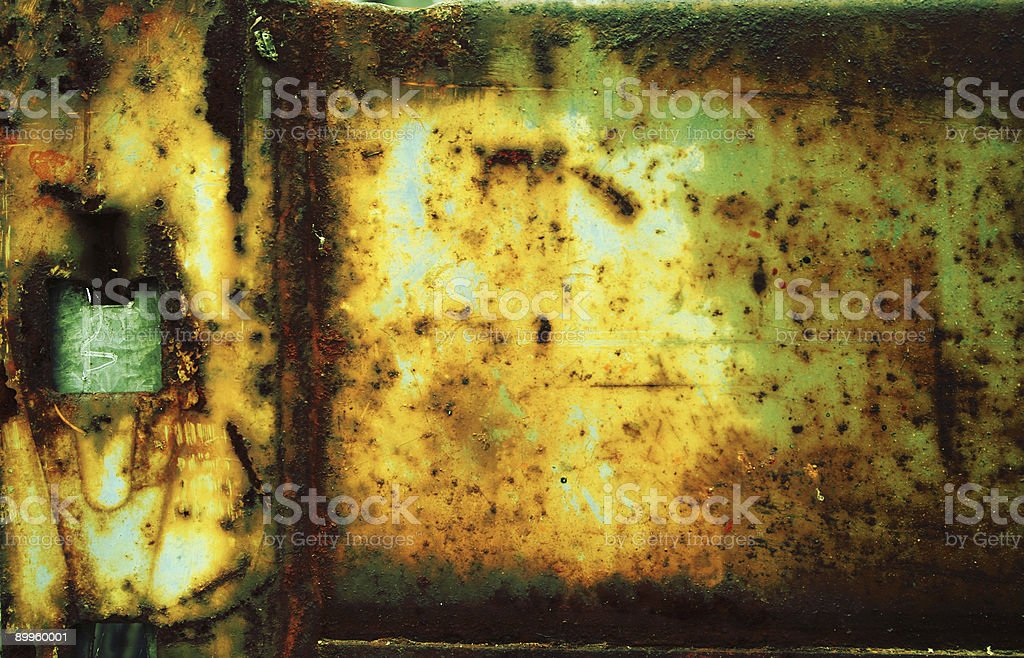 rusty metal beam royalty-free stock photo