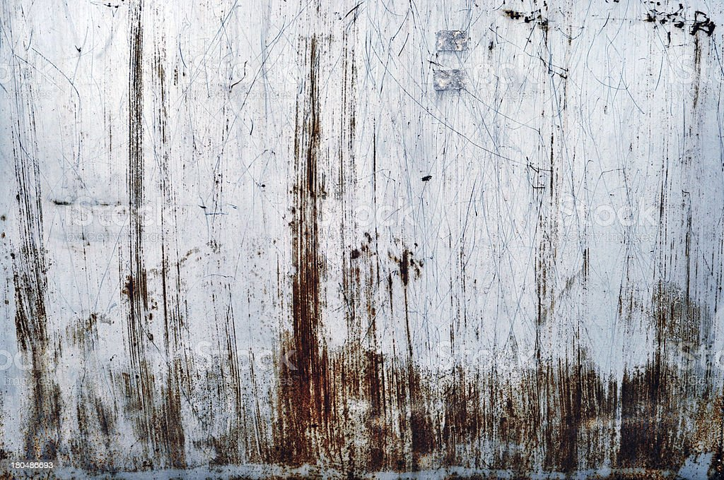 Rusty metal grunge royalty-free stock photo