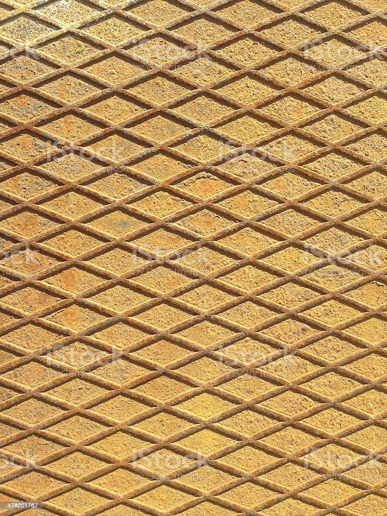 Rusty Metal Pattern royalty-free stock photo