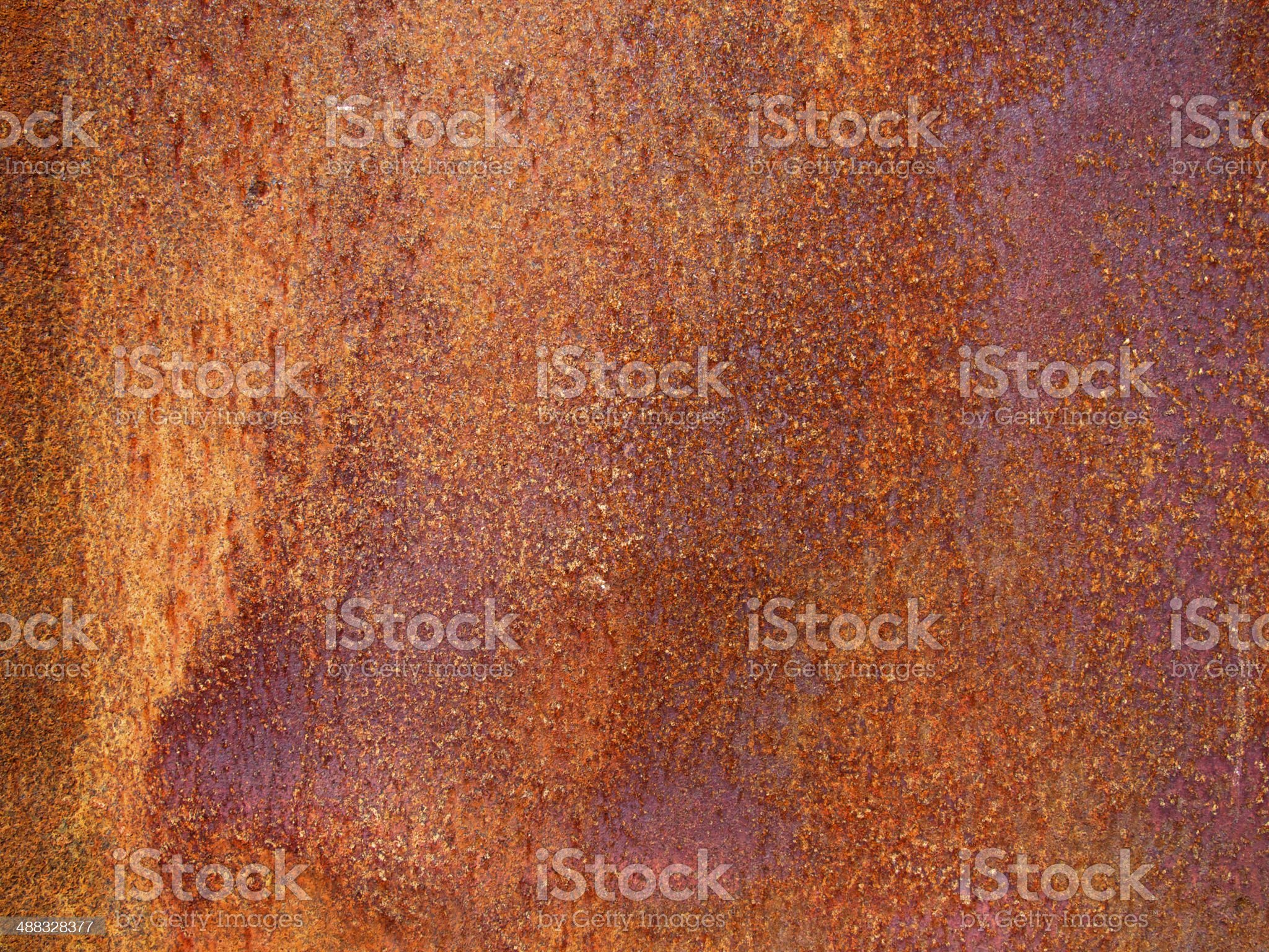 Rusty metal royalty-free stock photo