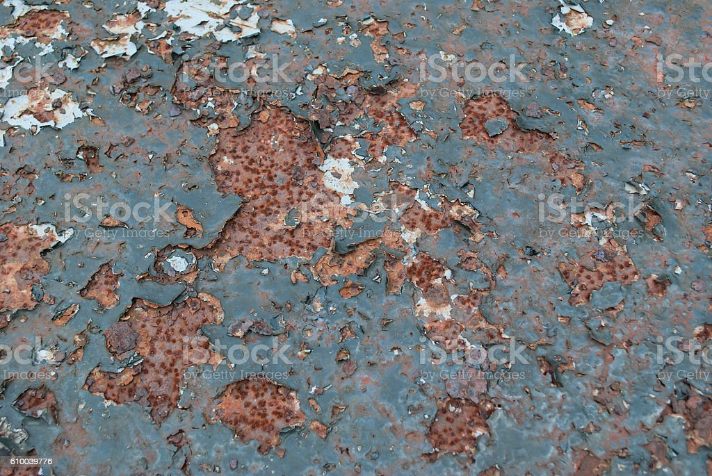 Rusty metal. stock photo
