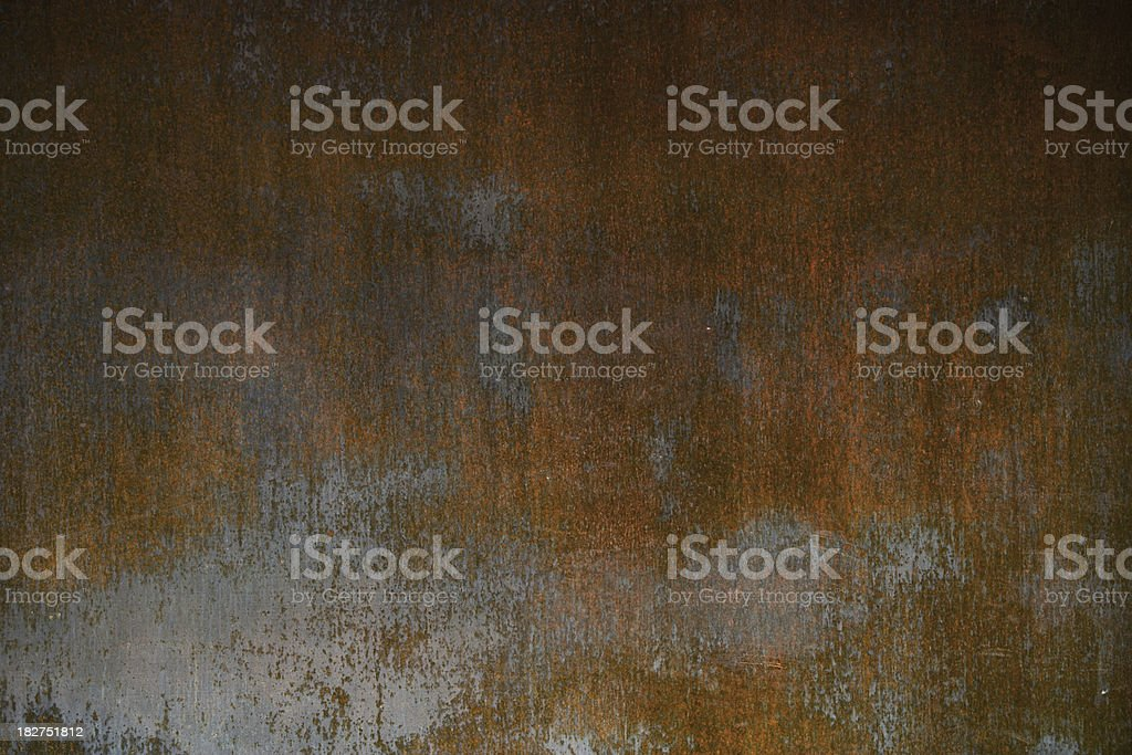 rusty metal plate background stock photo