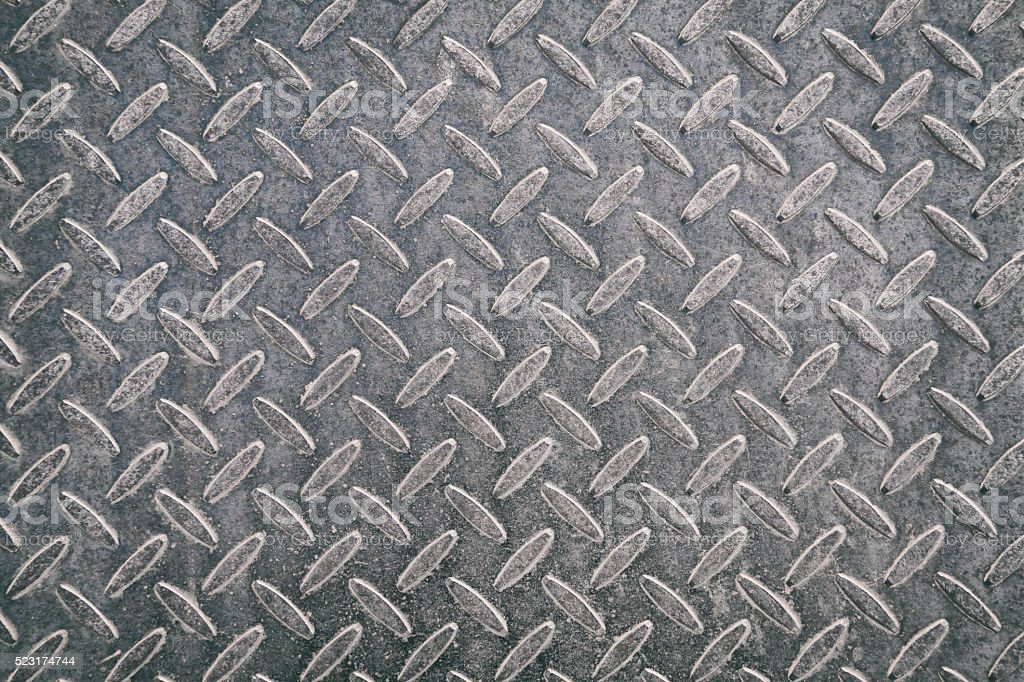 Rusty metal plate texture background stock photo