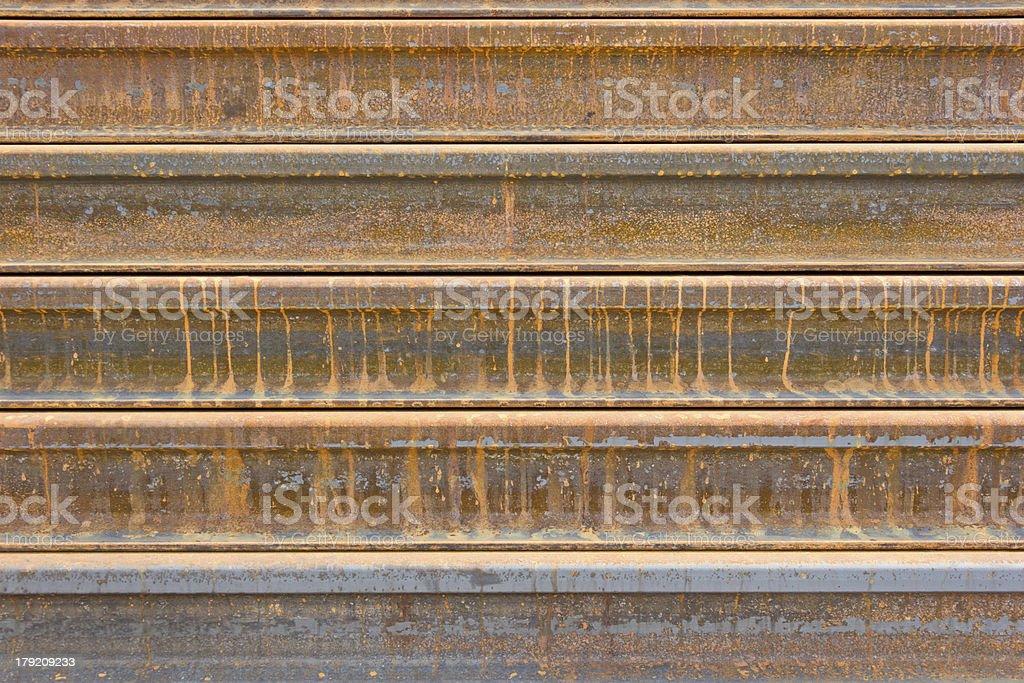 rusty  metal railway background royalty-free stock photo