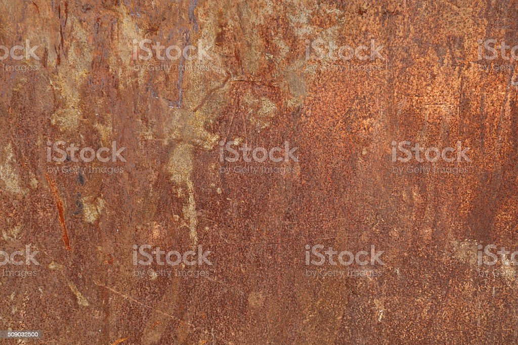 Rusty metal sheet background stock photo