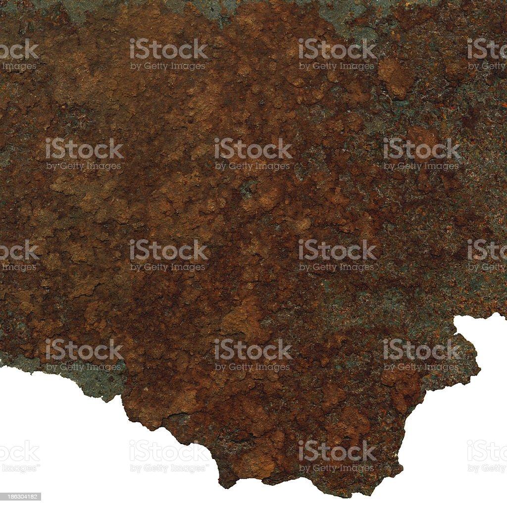 Rusty metal sheet royalty-free stock photo
