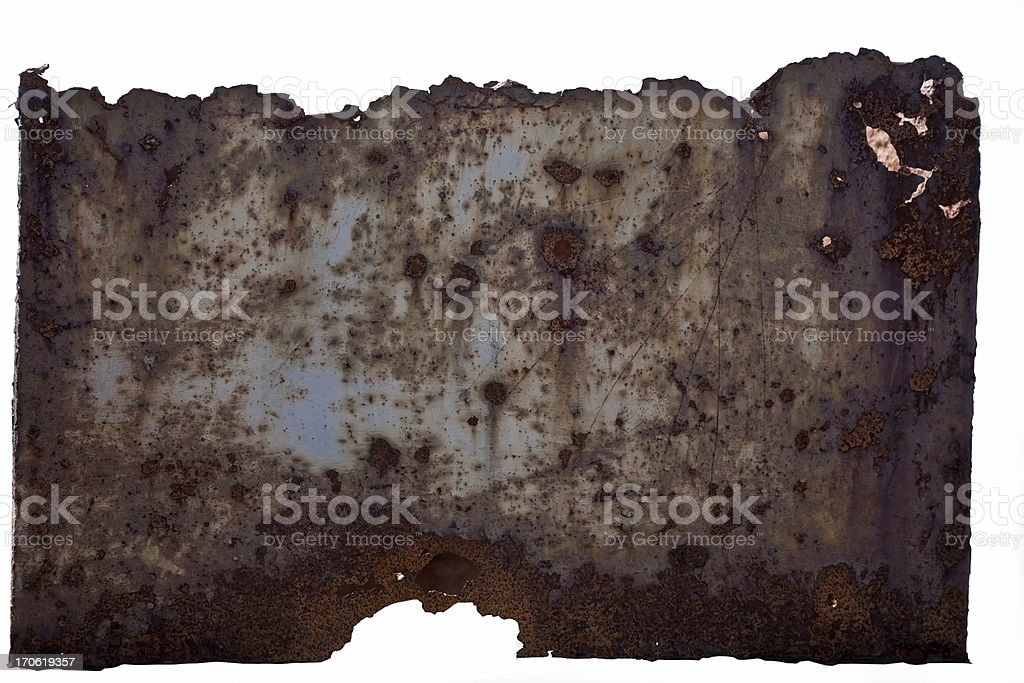 Rusty metal surface. stock photo