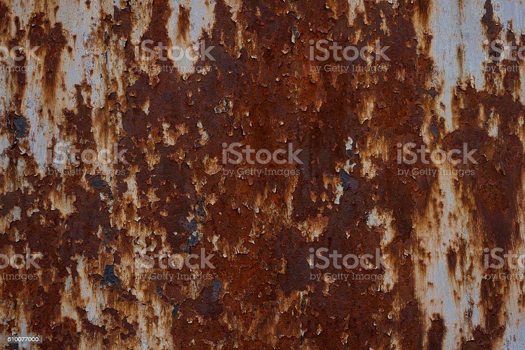 Rusty metal surface. stock photo