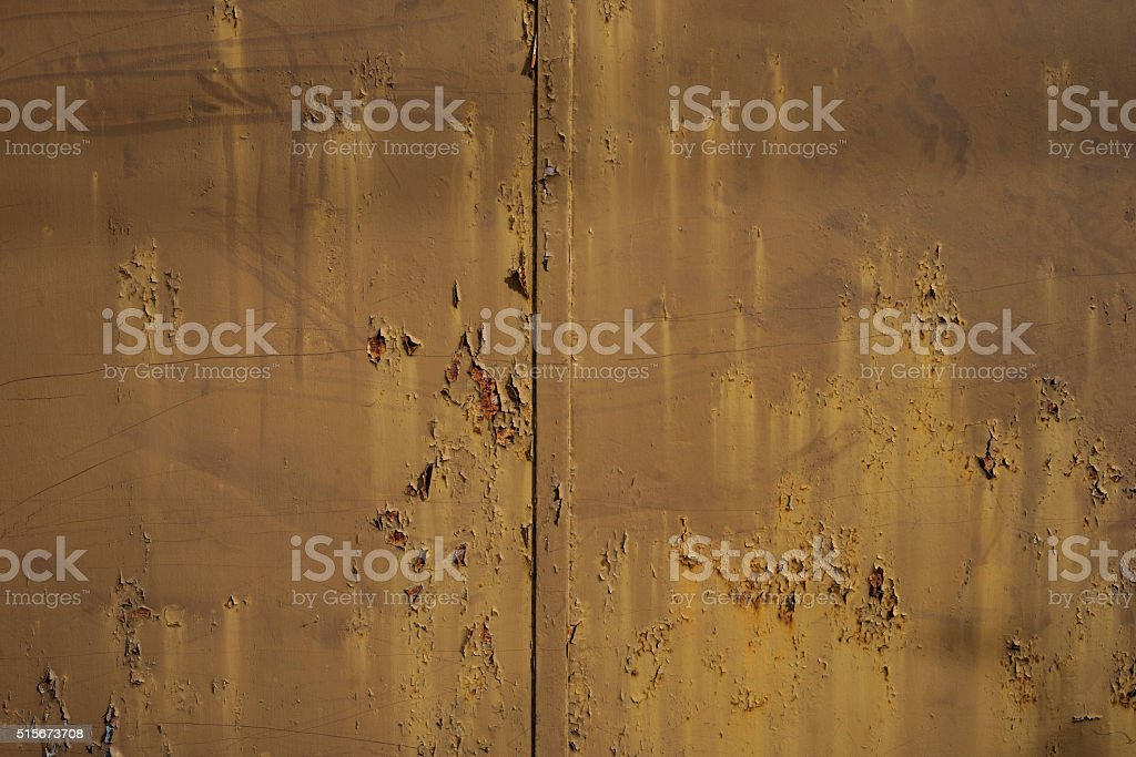 Rusty metal surface stock photo