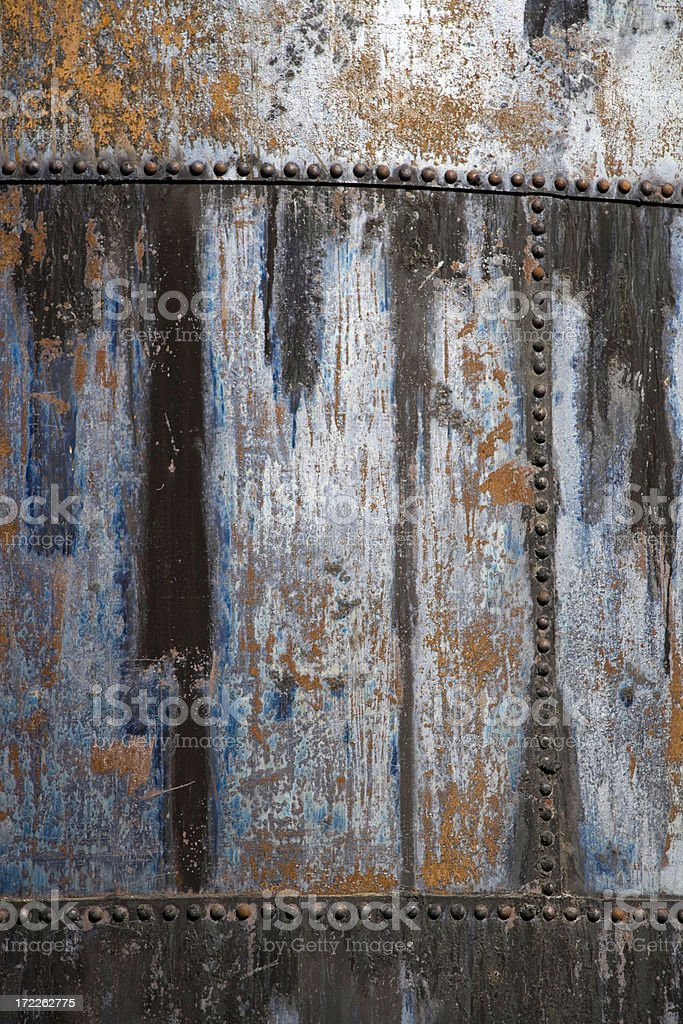 rusty metal tank texture detail royalty-free stock photo