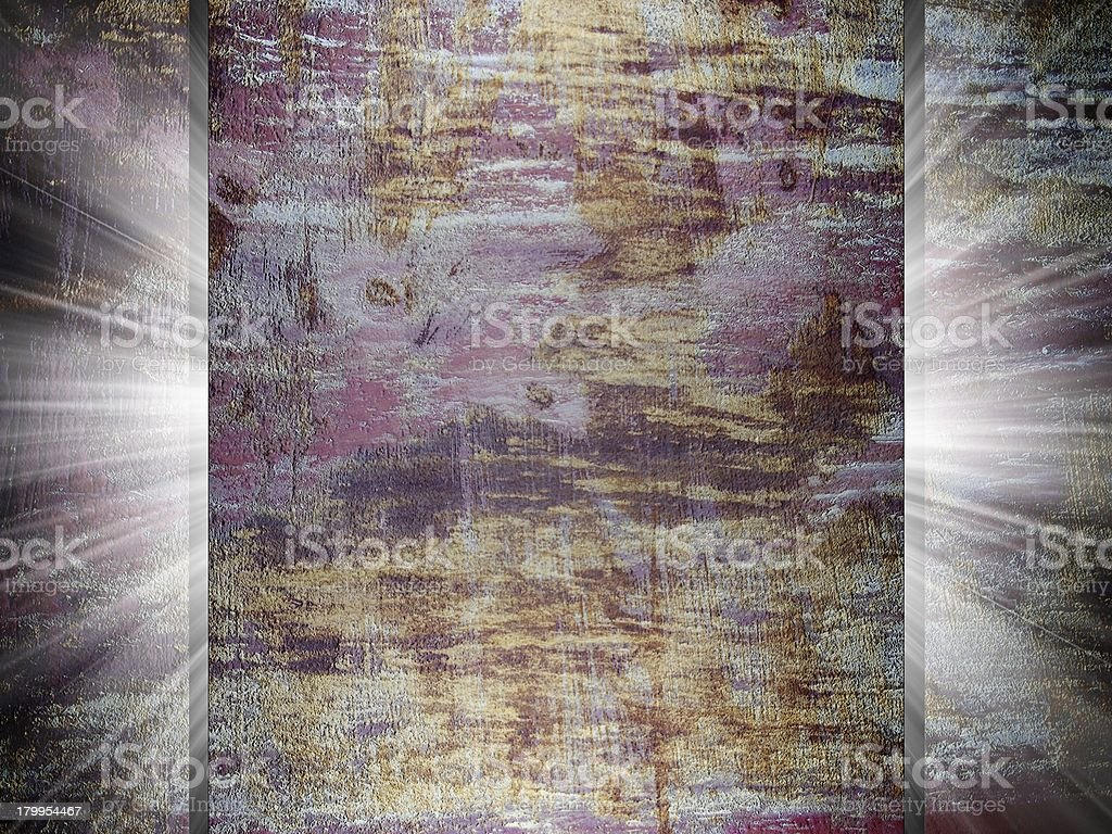 Rusty metal texture 3d presentation royalty-free stock photo