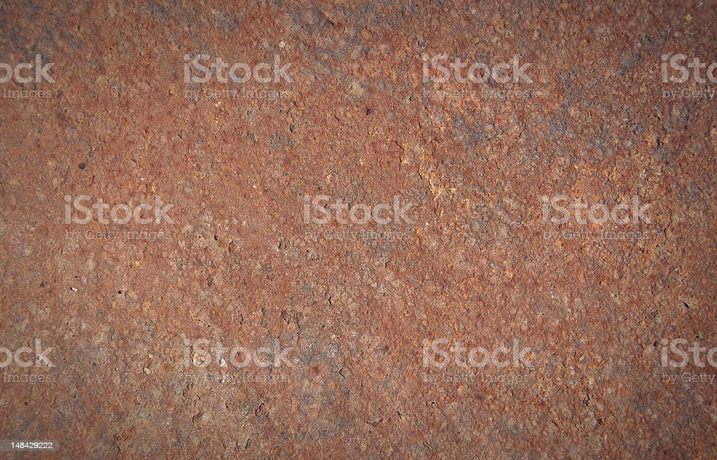 rusty metal texture, royalty-free stock photo