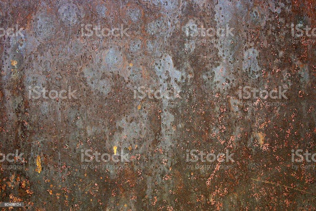 Rusty Metal Texture royalty-free stock photo