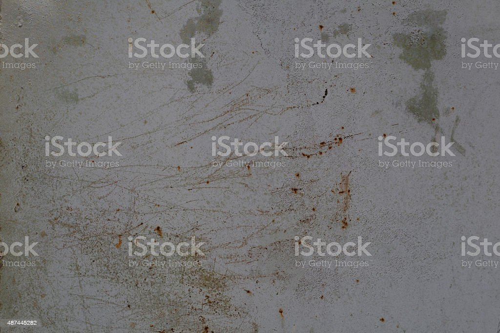 Rusty metal wall. Old rusty metal plategrunge texture stock photo