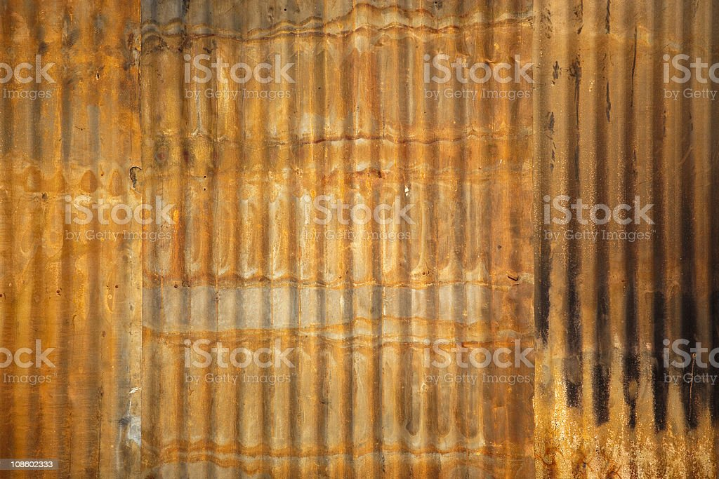 Rusty Metallic background royalty-free stock photo