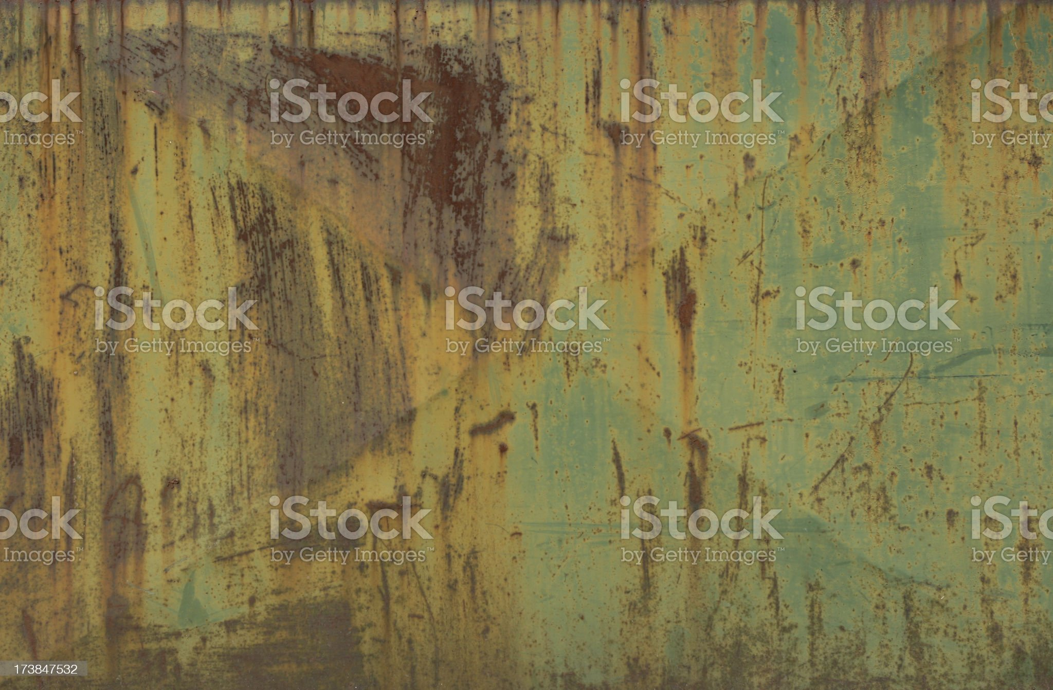 Rusty Metallic Background royalty-free stock photo