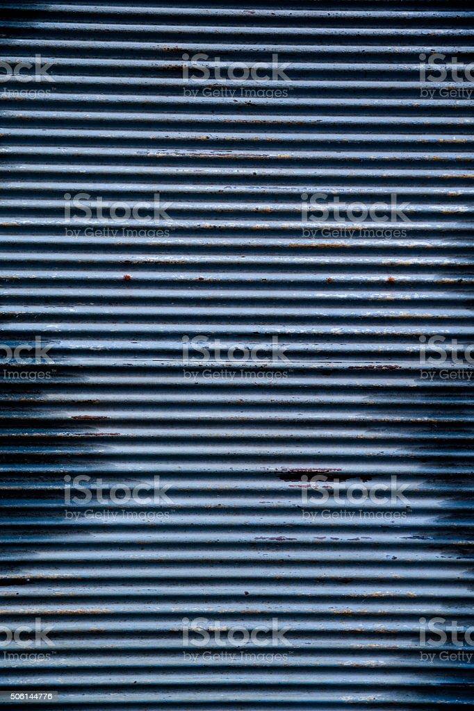 Rusty Metallic Shutters Texture stock photo
