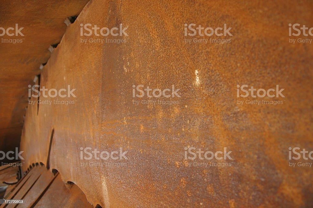 Rusty Metalwork stock photo