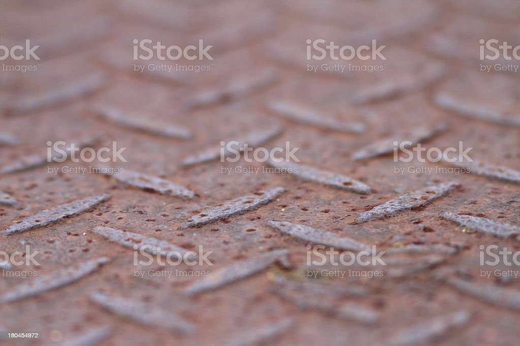 rusty old metal royalty-free stock photo