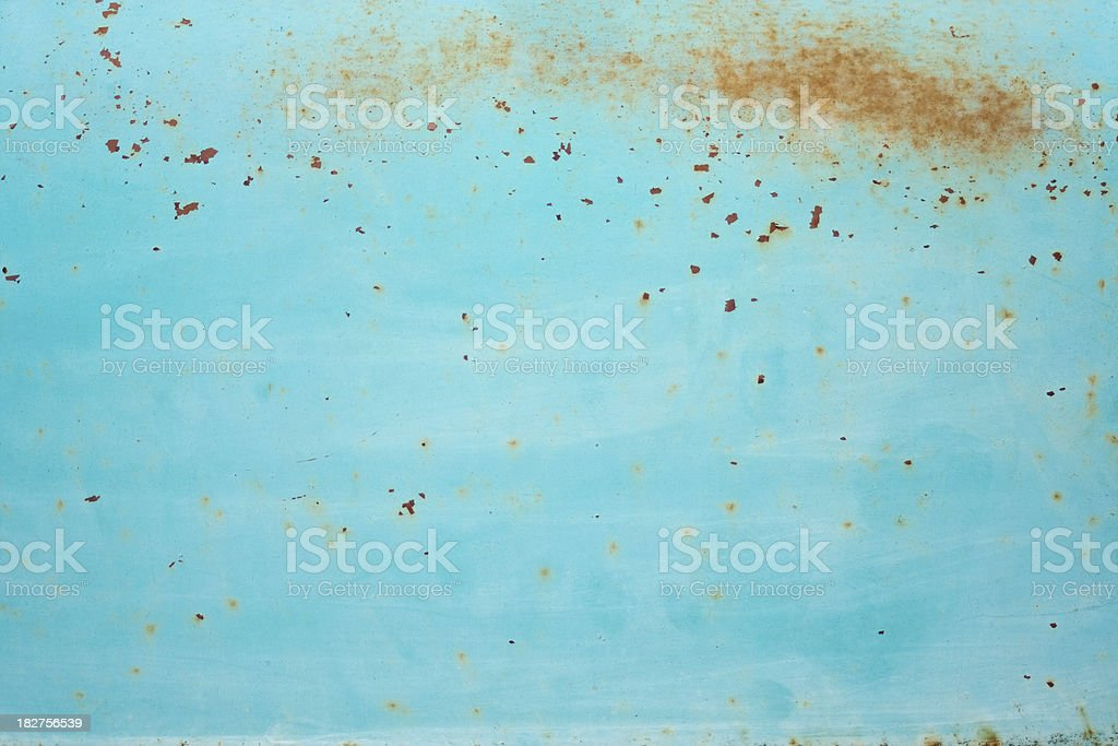 Rusty Old Paint Job royalty-free stock photo