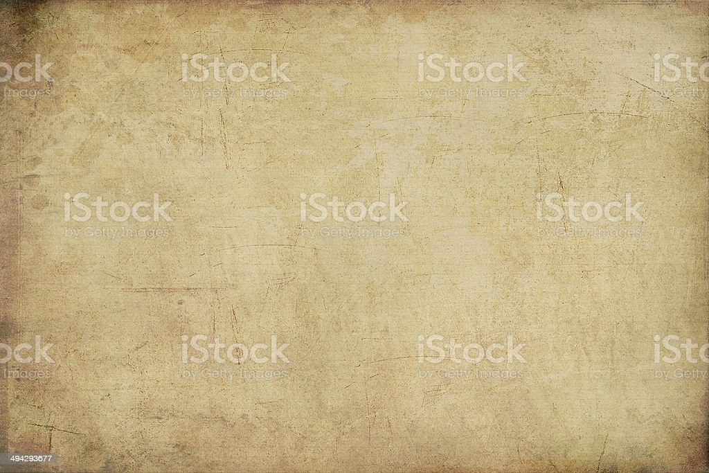 Rusty Old Paper stock photo