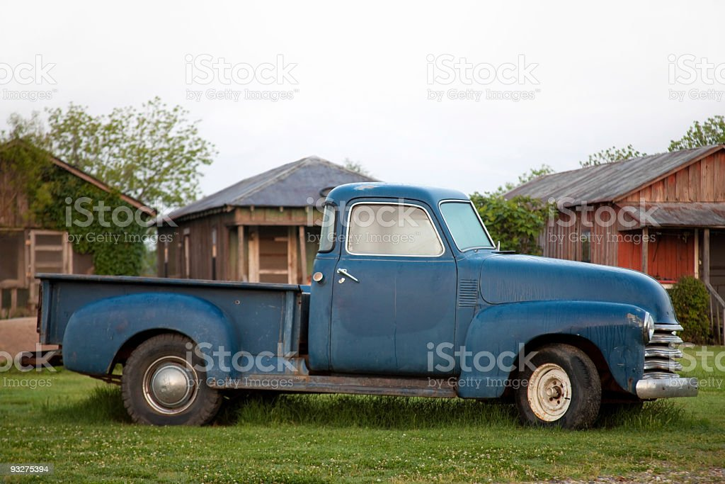 Rusty Old Pickup Truck royalty-free stock photo