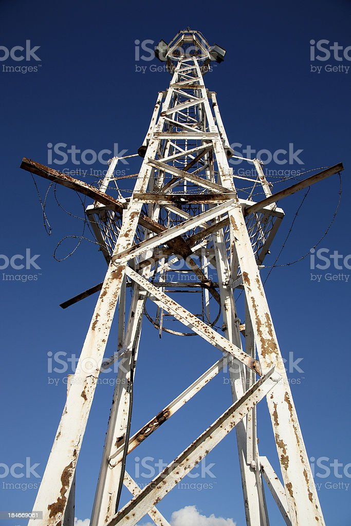 Rusty old tower royalty-free stock photo