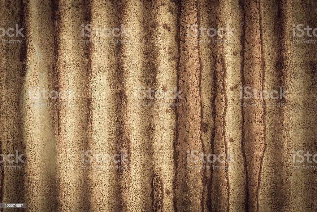 Rusty on zinc metal plate texture royalty-free stock photo