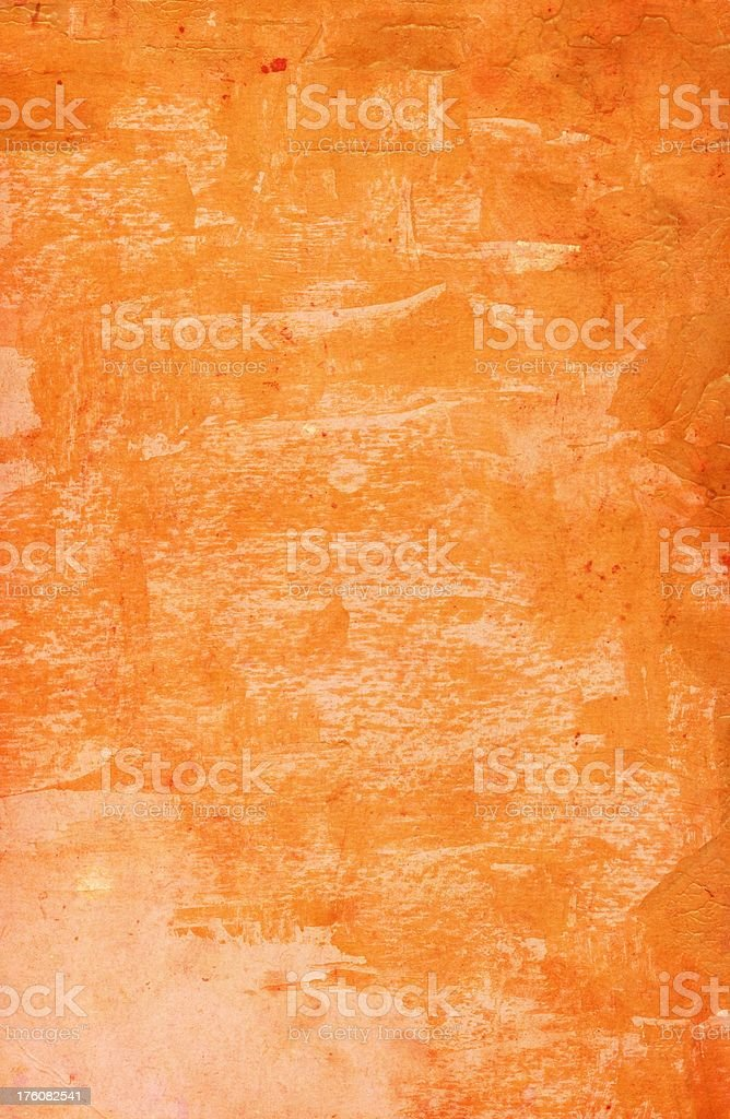 Rusty Orange Poster royalty-free stock photo