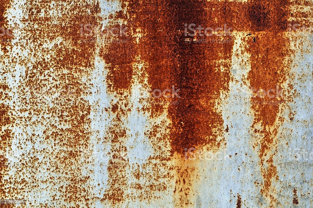 Rusty over grey texture. Background series. royalty-free stock photo