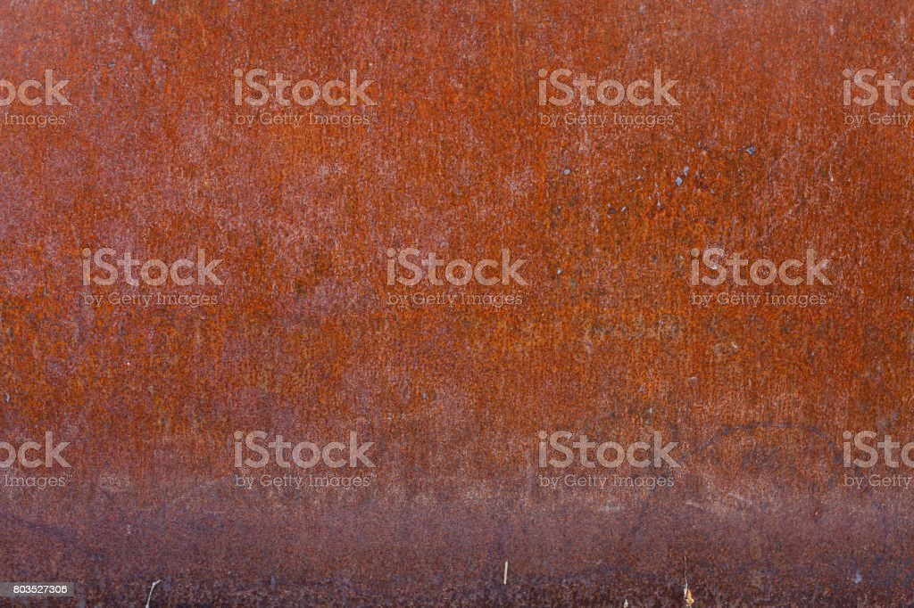 Rusty Pannel stock photo