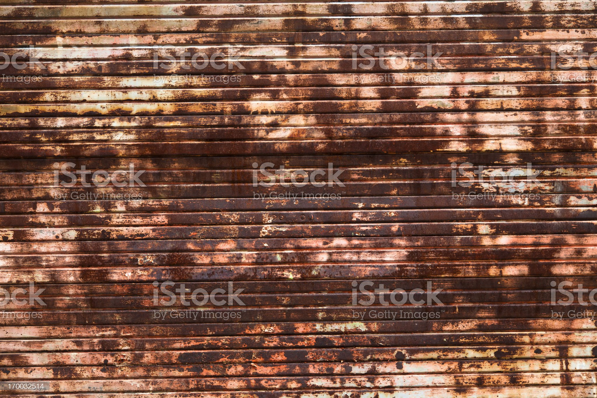 Rusty royalty-free stock photo