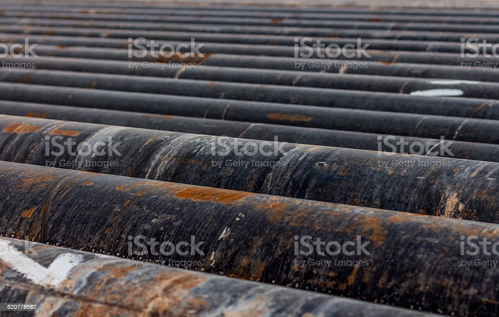 rusty pipes stock photo