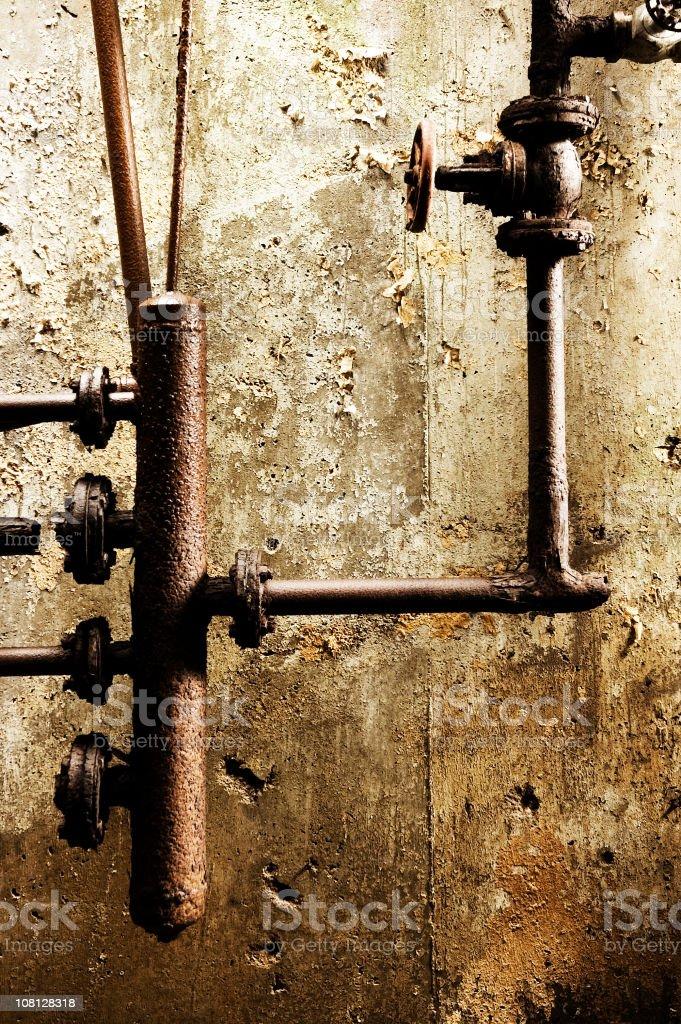 Rusty Piping royalty-free stock photo