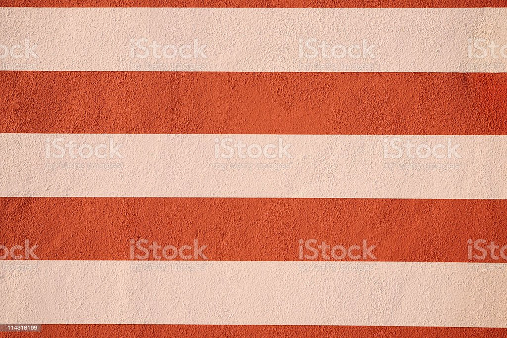 Rusty Red and Pinky Cream Striped Background Texture royalty-free stock photo
