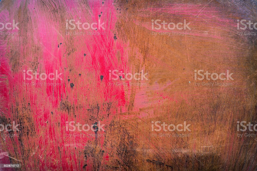 Rusty red metal background stock photo